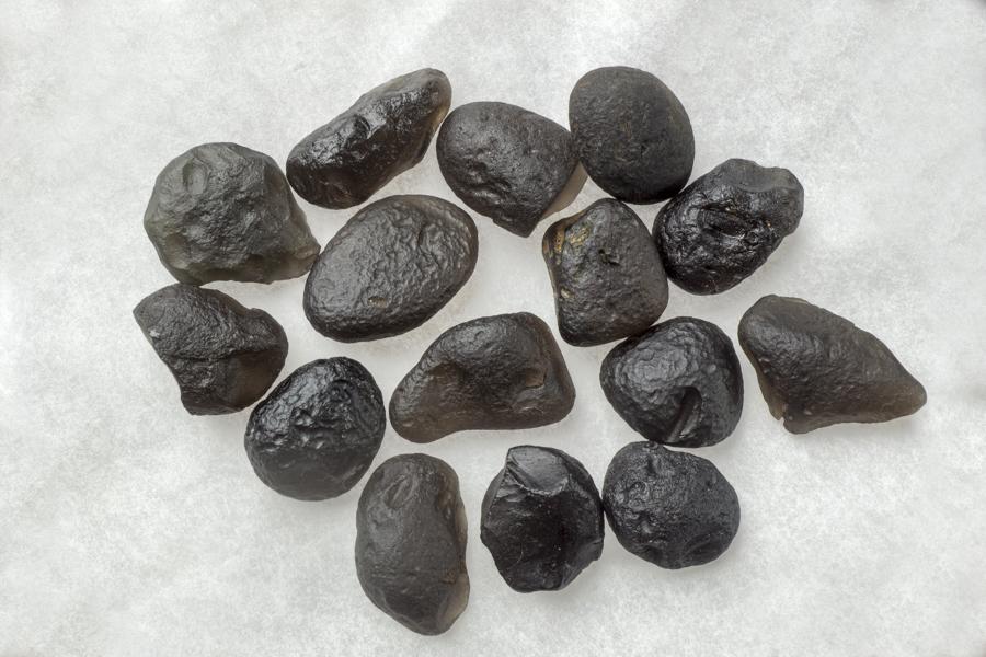 Translucent Saffordite Assorted 3-4 gram stones- 50 gram Bag