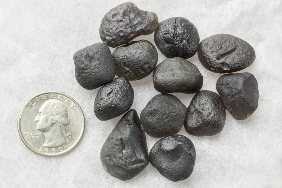 Translucent Saffordite Assorted 4-5 gram stones- 50 gram Bag